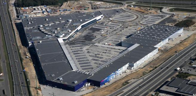 Budowa CH Europa Centralna w Gliwicach (październik 2012) (1)
