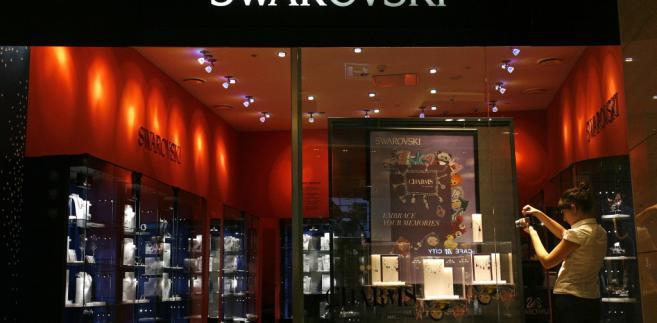 Jeden ze sklepów Swarovskiego