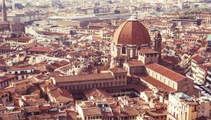 Florencja: widok na Duomo