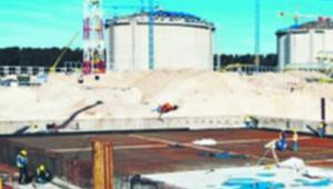 Budowa gazoportu w Świnoujściu