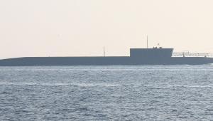 Rosyjski okręt podwodny K-535 Jurij Dołgoruki. Wikimedia Commons. Autor: Schekinov Alexey Victorovich