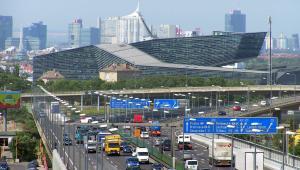 Obwodnica autostradowa w Wiedniu, Suedosttangente Photo: ninanuri for wikipedia, 2005