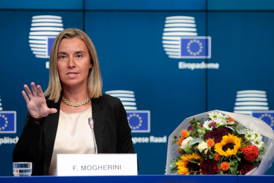 Federica Mogherini Credit © European Union, 2011