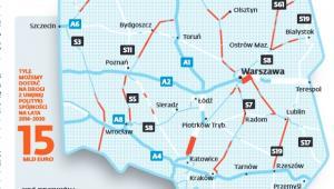 Projekty drogowe realizowane w latach 2014-2020 z funduszy UE