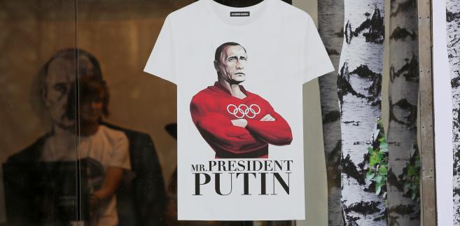 Koszulka z Władimirem Putinem