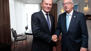 Donald Tusk i Jean Claude Juncker
