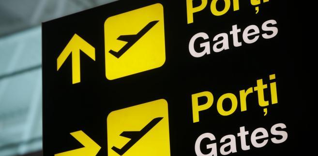 emigracja, lotnisko, samolot,
