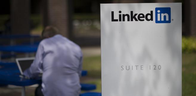Siedziba LinkedIn Corp. w Mountain View w Kalifornii