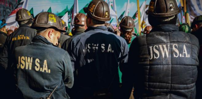 Spór w JSW rozwinął się w akcję strajkową, a ta w starcia z policją