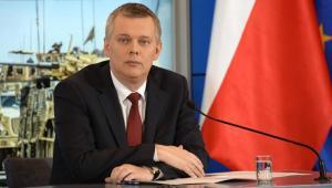 Tomasz Siemioniak, minister obrony narodowej. Fot: chor. Artur Zakrzewski/DPIMON, 2015