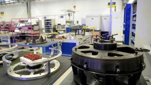 Otwarcie zakładu MTU Aero Engines w Tajęcinie   (dd/ukit) PAP/Darek Delmanowicz