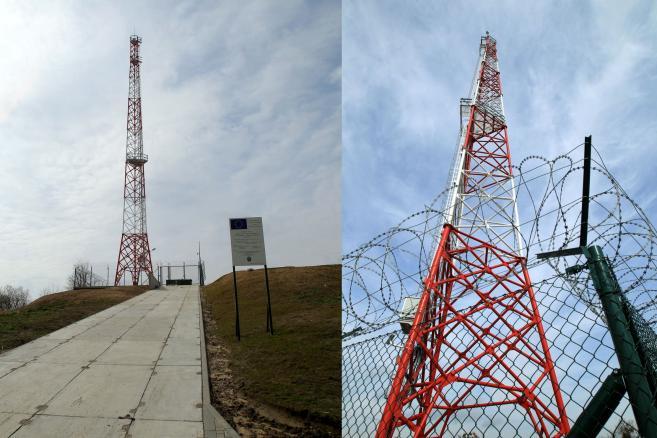Wieża obserwacyjna straży granicznej w pobliżu miejscowości Parkoszewo, 7 bm. Wzdłuż granicy między Polską a obwodem kaliningradzkim Federacji Rosyjskiej zbudowano 6 wież obserwacyjnych dla straży granicznej, wyposażonych w urządzenia pozwalające całodobowo monitorować okolicę przy granicy. (tw/cat) PAP/Tomasz Waszczuk