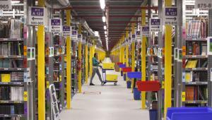 Centrum logistycznych Amazon w Poznaniu fot.: Bartek Sadowski/Bloomberg