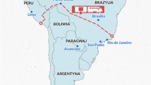 Linia kolejowa Brazylia-Peru, Infografika DG