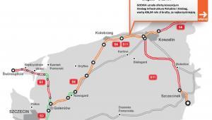 S6 - zachodniopomorskie odcinek Ustronie Morskie - Koszalin
