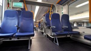 Tak wygląda w tych pociągach przestrzeń pasazerska