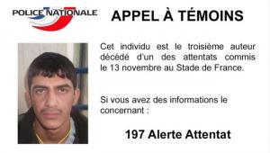Francuska policja publikuje zdjęcie podejrzanego o organizowanie zamachów na Stade de France EPA/FRENCH MINISTRY OF THE INTERIOR/ Dostawca: PAP/EPA.