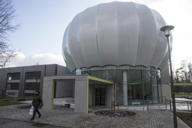 Budynek Laboratorium Symulacji Molekularnych. ARUZ  (gm/mr) PAP/Grzegorz Michałowski