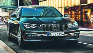 BMW 750i mat. prasowe