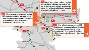 S17 - od węzła Lubelska do początku obwodnicy Garwolina