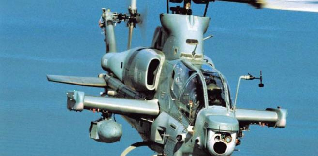 AH-1Z Viper HX-21 w locie