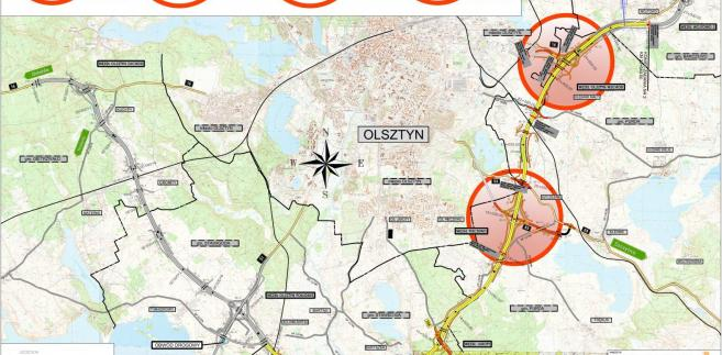 Podpisano umowę na budowę drugiego odcinka południowej obwodnicy Olsztyna, źródło GDDKiA