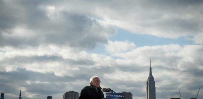 Bernie Sanders EPA/GARY HE/INSIDER IMAGES Dostawca: PAP/EPA.