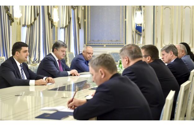 Ukraina: Poroszenko rząd źródło: http://www.president.gov.ua/