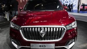 BX5 - SUV marki Borgward