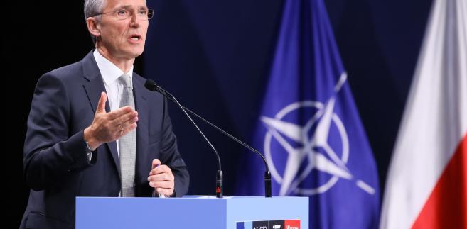 Sekretarz generalny Sojuszu Północnoatlantyckiego Jens Stoltenberg,