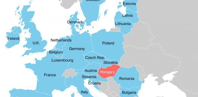 Poparcie dla kandydatów w wyborach prezynckich w USA wśród państw UE