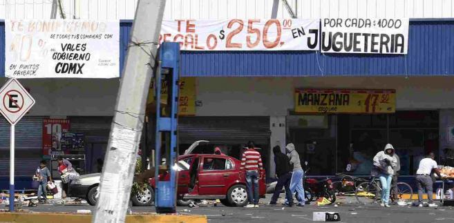 Meksyk po protestach przeciw podwyżkom cen paliw EPA ULISES NARANJO