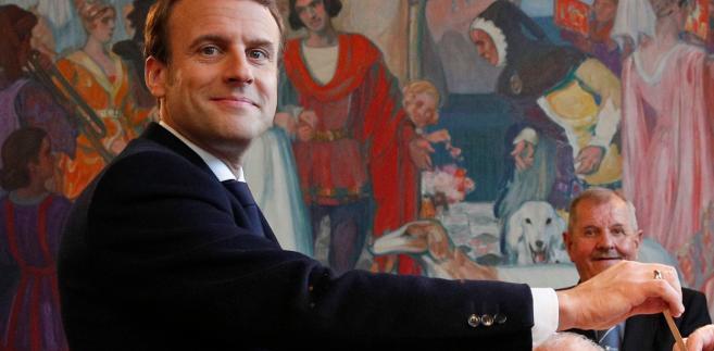 Macron nowym prezydentem Francji