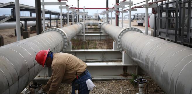 Amerykańskie rezerwy strategiczne ropy (Strategic Petroleum Reserve) we Freeport w stanie Teksas. USA, 9.06.2016