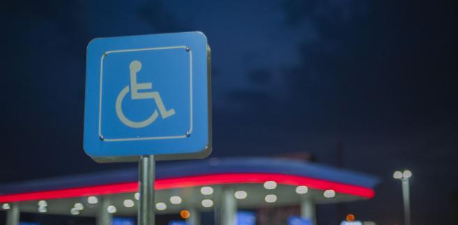 Parking dla osób niepełnosprawnych