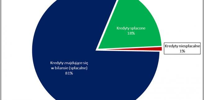 Podział kosztów planowanego zwrotu spreadów dla kredytobiorców w zależności od statusu kredytów źródło: Rynek Pierwotny