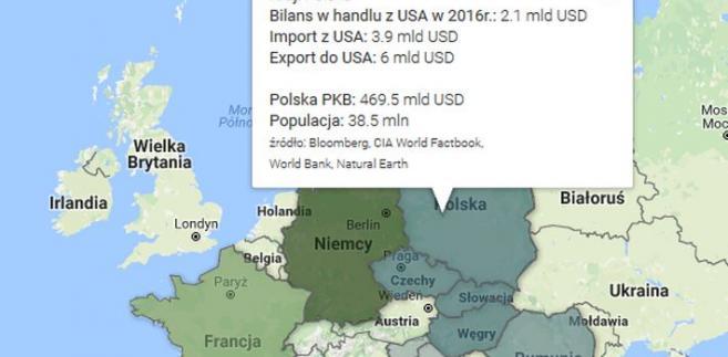 Bilans handlowy USA z ....