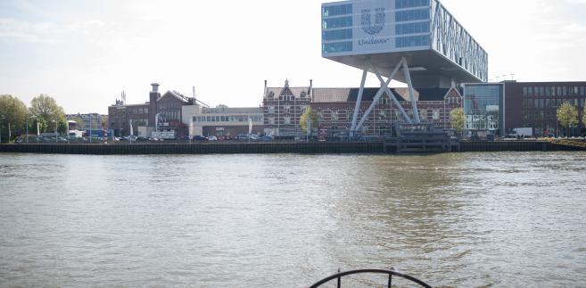 Główna siedziba koncernu Unilever w Rotterdamie, Holandia, 11.05.2017