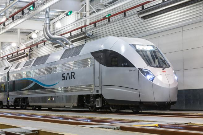 CAF - PUSH-PULL TRAIN FOR THE SAUDI RAILWAY COMPANY (SAR)