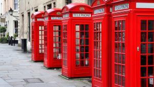 Brytyjskie budki telefoniczne