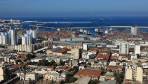 Panorama Algieru, stolicy Algierii, Afryka.
