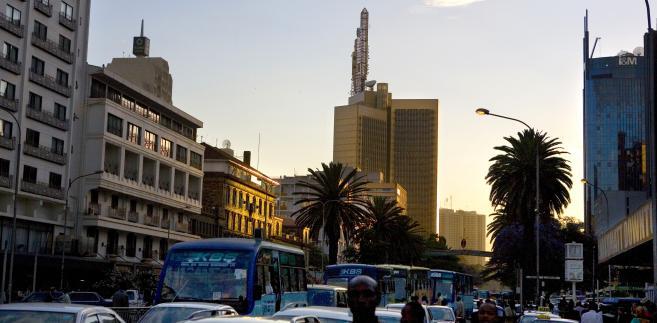 Nairobi, Kenyatta Avenue