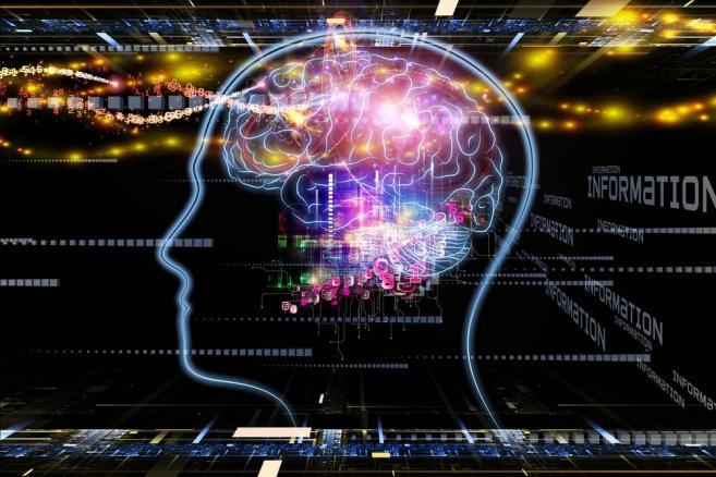 Komputer, technologie, innowacje, mózg