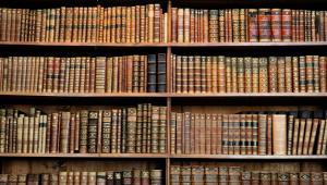Kiedyś księgarnie były instytucją kultury. Dzisiaj panuje w nich kultura  Na zdjęciu stary księgozbiór w jednej z wiedeńskich bibliotek