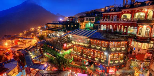 Jiufen, Tajwan.