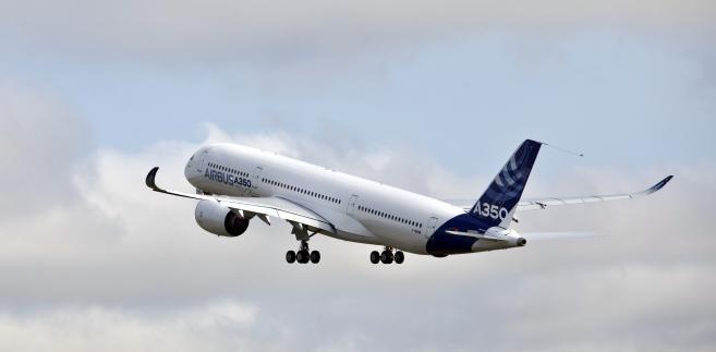 Pierwszy lot Airbusa A350