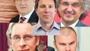 Wojciech Sobieraj, Andrzej Mochoń, Rafał Brzoska, Herbert Wirth, Adam Kiciński