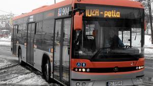 04.04.2013 Rzeszow. Nowy autobus Autosan SANCITY 10 LF w taborze rzeszowskiego MPK. Fot. Patryk Ogorzalek/Agencja Gazeta.