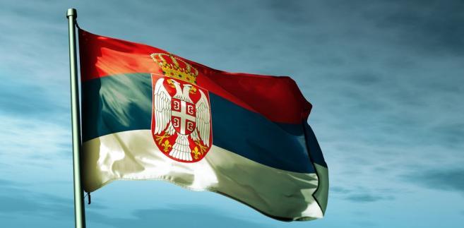 Serbia. Flaga Serbii