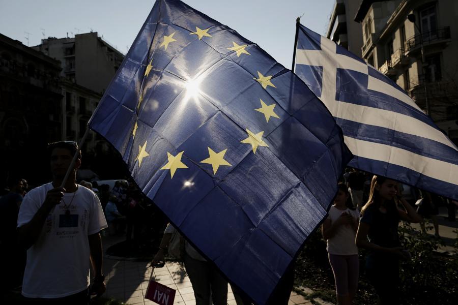 Protesty w Salonikach
